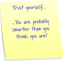Trust Yourself - My Help Source