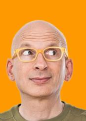 Seth Godin's Head 174 x 244
