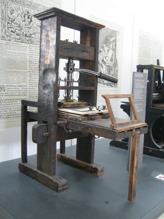 Gutenberg Press - MyHelpSource