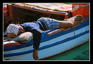 Sleeping Fisherman - Dieter Drescher at Flickr